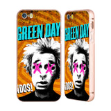 Official Green Day Key Art Gold Aluminium Bumper Slider Case for Apple iPhone 5 / 5s / SE