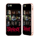 Official Slipknot Key Art Gold Aluminium Bumper Slider Case for Apple iPhone 5 / 5s / SE