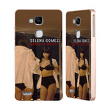 Official Selena Gomez Revival Gold Aluminium Bumper Slider Case for Huawei Ascend Mate7