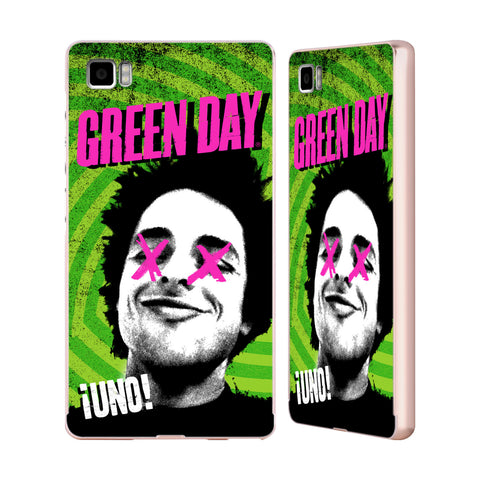 Official Green Day Key Art Gold Aluminium Bumper Slider Case for Xiaomi Mi 3