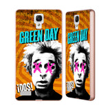Official Green Day Key Art Gold Aluminium Bumper Slider Case for Xiaomi Redmi Note