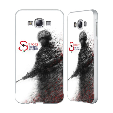 Support British Soldiers Sbs Official Support British Soldiers SBS Official Silver Aluminium Bumper Slider Case for Samsung Galaxy E7