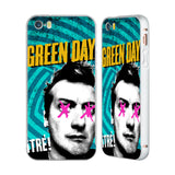 Official Green Day Key Art Silver Aluminium Bumper Slider Case for Apple iPhone 5 / 5s / SE