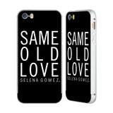 Official Selena Gomez Revival Art Silver Aluminium Bumper Slider Case for Apple iPhone 5 / 5s / SE