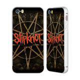 Official Slipknot Key Art Silver Aluminium Bumper Slider Case for Apple iPhone 5 / 5s / SE