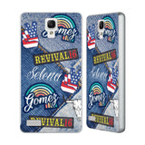 Official Selena Gomez Revival Art Silver Aluminium Bumper Slider Case for Xiaomi Redmi Note