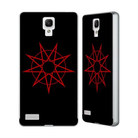 Official Slipknot Key Art Silver Aluminium Bumper Slider Case for Xiaomi Redmi Note