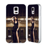 Official Selena Gomez Revival Silver Aluminium Bumper Slider Case for Samsung Galaxy S5 / S5 Neo