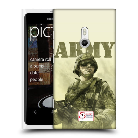 Support British Soldiers Sbs Official British Troops Hard Back Case for Nokia Lumia 800 / Sea Ray