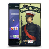 Support British Soldiers Sbs Official British Troops Hard Back Case for Sony Xperia A2