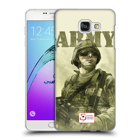 Support British Soldiers Sbs Official British Troops Hard Back Case for Samsung Galaxy A7 (2016)