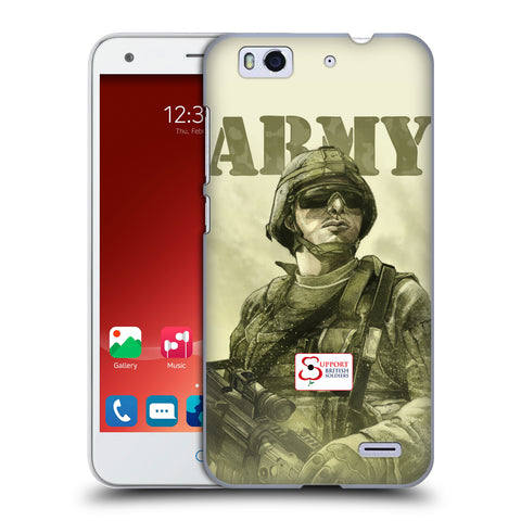 Support British Soldiers Sbs Official British Troops Hard Back Case for ZTE Blade S6 Plus