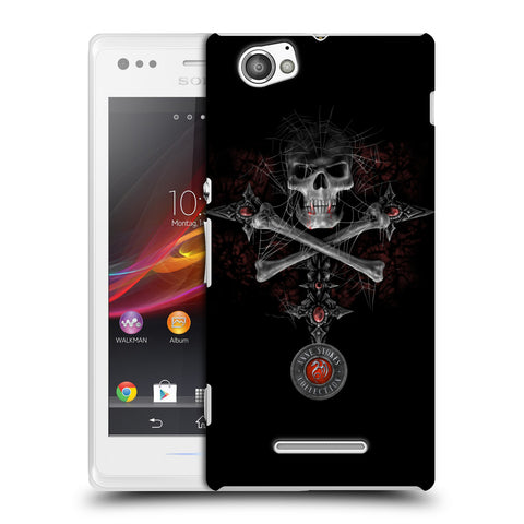 Official Anne Stokes Tribal Hard Back Case for Sony Xperia M / M Dual