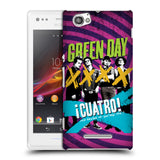 Official Green Day Key Art Hard Back Case for Sony Xperia M / M Dual