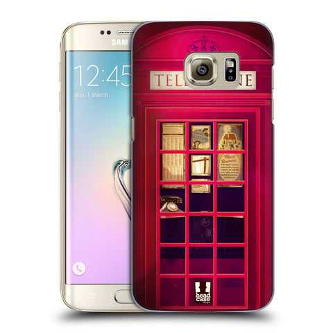 HEAD CASE DESIGNS TELEPHONE BOX HARD BACK CASE FOR SAMSUNG GALAXY S7 EDGE
