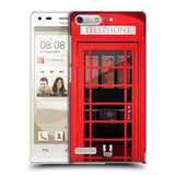 HEAD CASE DESIGNS TELEPHONE BOX HARD BACK CASE FOR HUAWEI ASCEND G6