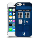 HEAD CASE DESIGNS TELEPHONE BOX HARD BACK CASE FOR APPLE IPHONE 5 5S SE