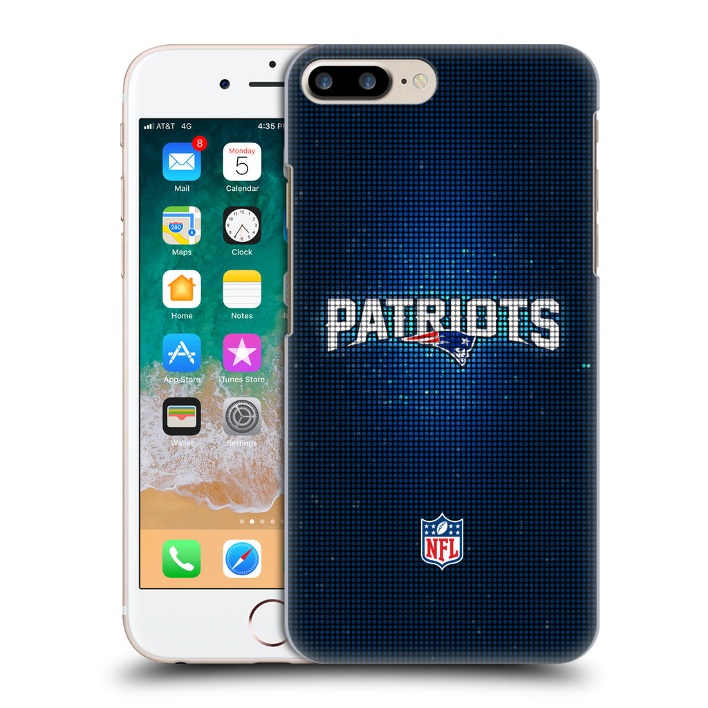 best service 8c9f8 e5693 Official NFL 2017/18 New England Patriots Hard Back Case for Apple iPhone 7  Plus / 8 Plus