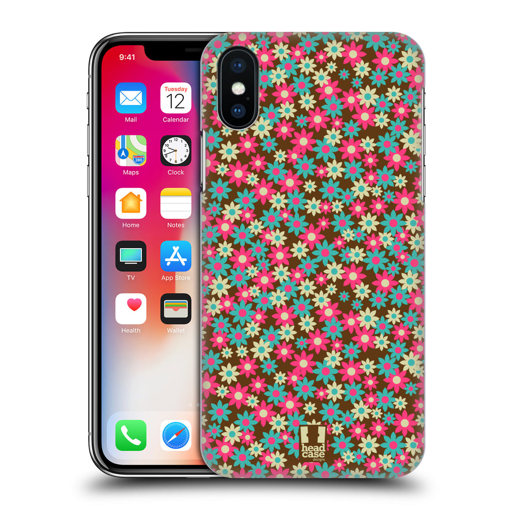 d46084e0e0f Head Case Designs Ditsy Floral Patterns Go Lite for Apple iPhone X   iPhone  XS