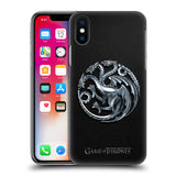 Official HBO Game of Thrones Embossed Sigils Hard Back Case for Apple iPhone X / iPhone XS