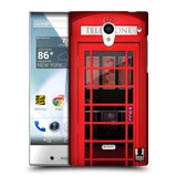 HEAD CASE DESIGNS TELEPHONE BOX HARD BACK CASE FOR SHARP AQUOS CRYSTAL 305SH