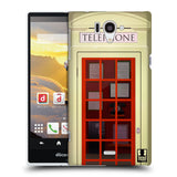 HEAD CASE DESIGNS TELEPHONE BOX HARD BACK CASE FOR SHARP AQUOS ZETA SH-04F