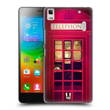 HEAD CASE DESIGNS TELEPHONE BOX HARD BACK CASE FOR LENOVO K3 NOTE A7000