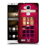 HEAD CASE DESIGNS TELEPHONE BOX HARD BACK CASE FOR HUAWEI ASCEND MATE7