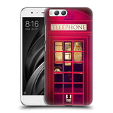 HEAD CASE DESIGNS TELEPHONE BOX HARD BACK CASE FOR XIAOMI MI 6