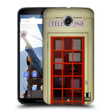 HEAD CASE DESIGNS TELEPHONE BOX HARD BACK CASE FOR MOTOROLA NEXUS 6