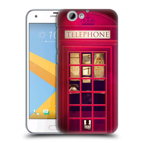 HEAD CASE DESIGNS TELEPHONE BOX HARD BACK CASE FOR HTC ONE A9S