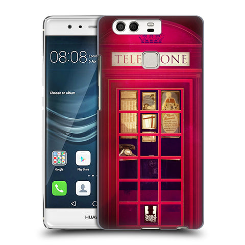 HEAD CASE DESIGNS TELEPHONE BOX HARD BACK CASE FOR HUAWEI P9