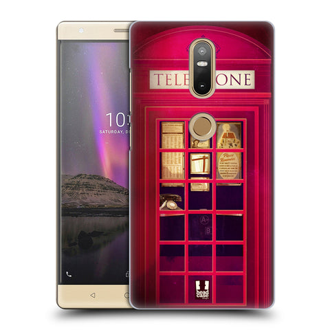 HEAD CASE DESIGNS TELEPHONE BOX HARD BACK CASE FOR LENOVO PHAB2 PLUS