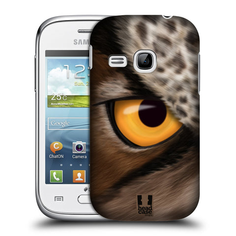 Head Case Designs Animal Eye Hard Back Case for Samsung Galaxy Young S6310