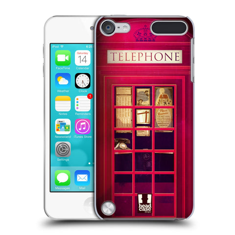 HEAD CASE DESIGNS TELEPHONE BOX HARD BACK CASE FOR APPLE IPOD TOUCH 5G 6G