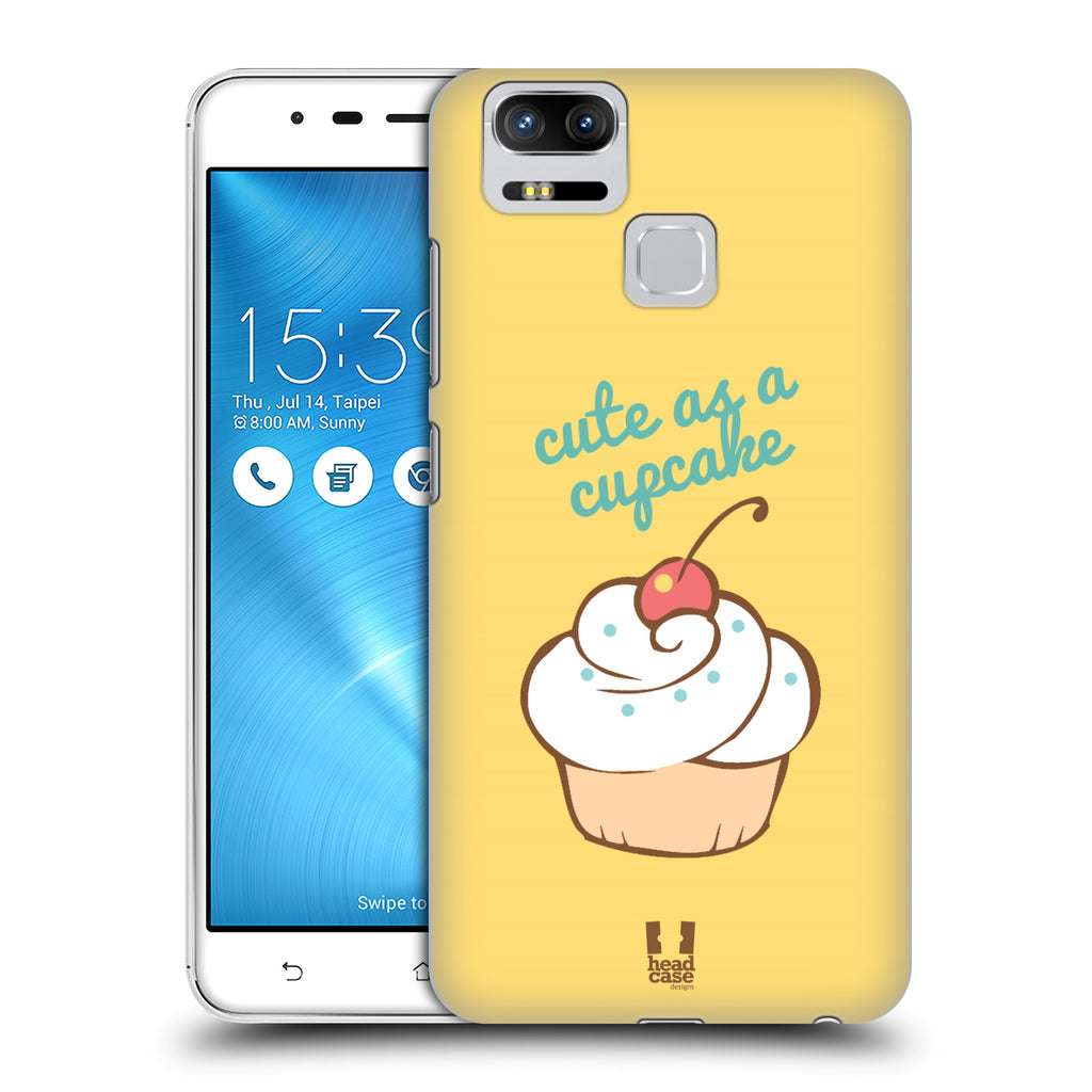 100% authentic db72f 03d7e HEAD CASE DESIGNS CUPCAKES HARD BACK CASE FOR ASUS ZENFONE 3 ZOOM ZE553KL