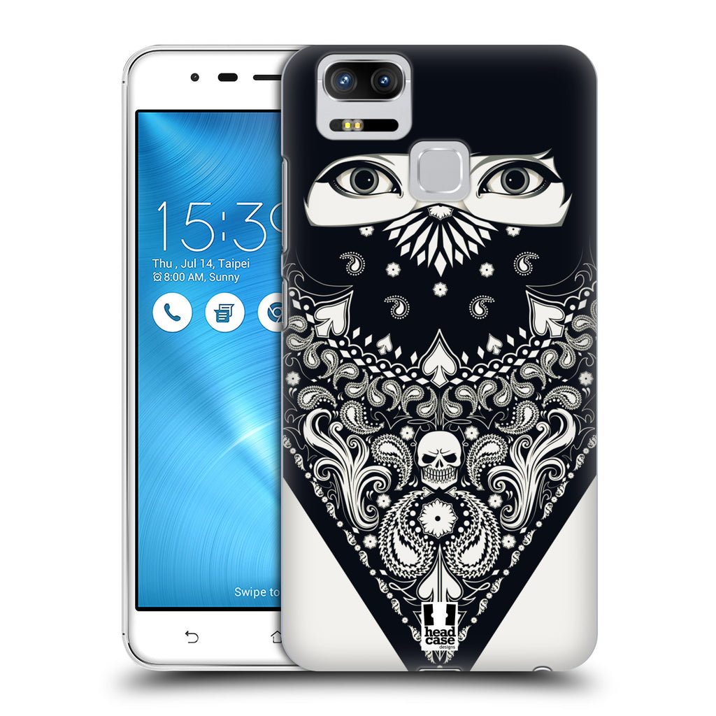 super popular 151d0 c13e3 Head Case Designs Bandana Hard Back Case for Asus Zenfone 3 Zoom ZE553KL