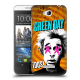 Official Green Day Key Art Hard Back Case for HTC Desire 616 Dual Sim