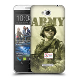Support British Soldiers Sbs Official British Troops Hard Back Case for HTC Desire 616 Dual Sim