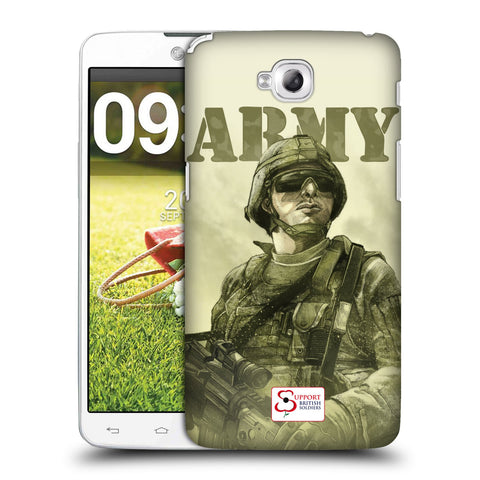 Support British Soldiers Sbs Official British Troops Hard Back Case for LG G Pro Lite / D680 / D682TR