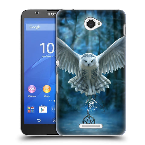 Official Anne Stokes Owls Hard Back Case for Sony Xperia E4