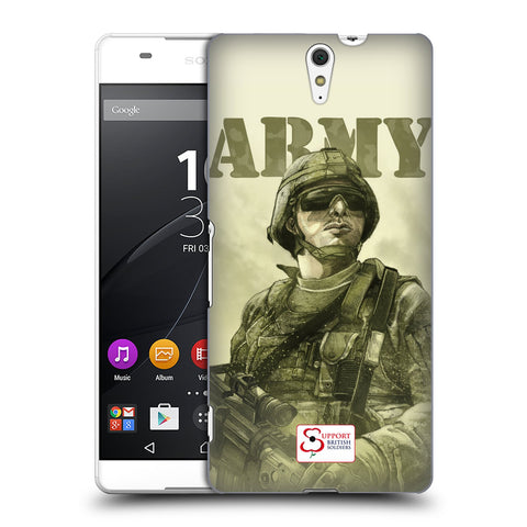Support British Soldiers Sbs Official British Troops Hard Back Case for Sony Xperia C5 Ultra / E5553