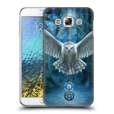 Official Anne Stokes Owls Hard Back Case for Samsung Galaxy E7