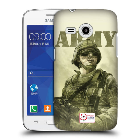 Support British Soldiers Sbs Official British Troops Hard Back Case for Samsung Galaxy Core Mini