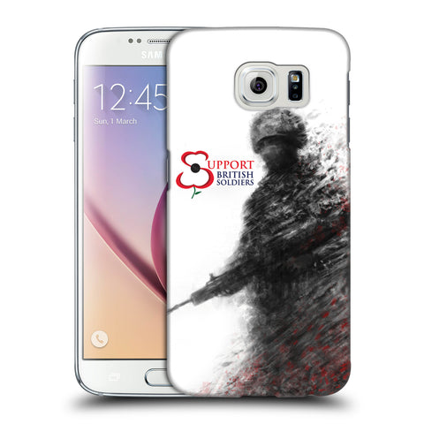 Support British Soldiers Sbs Official Support British Soldiers SBS Official Hard Back Case for Samsung Galaxy S6