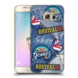 Official Selena Gomez Revival Art Hard Back Case for Samsung Galaxy S7 edge