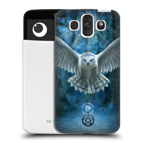 Official Anne Stokes Owls Hard Back Case for LG AKA