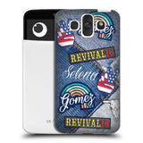 Official Selena Gomez Revival Art Hard Back Case for LG AKA