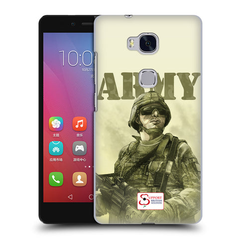 Support British Soldiers Sbs Official British Troops Hard Back Case for Huawei Honor 5X / GR5