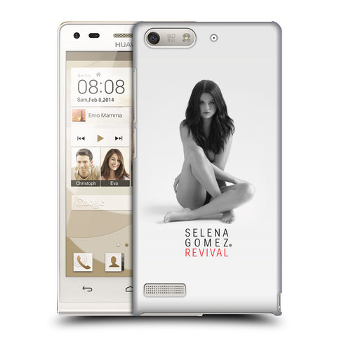 Official Selena Gomez Revival Hard Back Case for Huawei Ascend G6